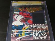 x-men #25 GOLD EDITION CGC SS 9.4 signed by STAN LEE