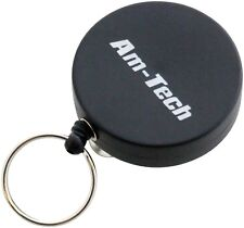 Retractable Key Chain Holder Split Ring Badge Recoil Belt Clip Pull Chain ID