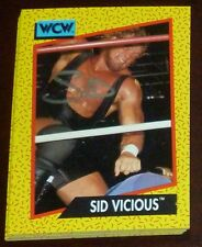 Sid Vicious Signed Auto'd 1991 Impel WCW Rookie Card RC #32 Autographed WWE WWF