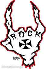 Mini Size Rock On Sticker Decal Artist Eric Pigors PG7B