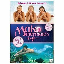 Mako Mermaids - An H2O Adventure: Season 1 - Island of Secrets (DVD, 2014, 2-Dis