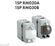 1SP RM030A KATY PERRY Detector de movimiento + adatt. Vimar Idea Antracita