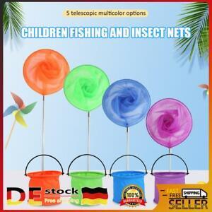 Kinder Ausziehbare Stange Insekt Schmetterlings Net Mesh Pocket Fishing Kescher