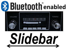 Slidebar Radio Stereo & Bluetooth Kit 1967-1973 Ford Mustang By Custom Autosound
