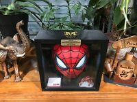 """STAN LEE Signed """"SPIDER-MAN"""" Mask  With Lit Eyes & PSA/DNA Authenticated 100%"""