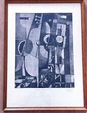 Belle lithographie  N° 1 Dedalo Montali (1909 - 2001)