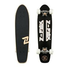 Z-Flex Skateboard Complete Z Bar Black White Cruiser Zflex Z Flex
