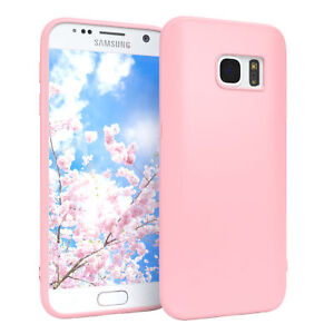For Samsung Galaxy S7 cover Soft Case Silicone Cover Protection Case Slim Matte