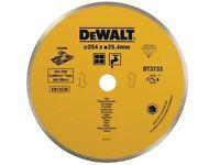 DEWALT - Ceramic Diamond Tile Blade 254mm x 25.4mm - DT3733-XJ