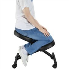 Adjustable Ergonomic Kneeling Chair Posture Chair Stool for Home Office Black