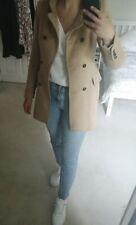 Zara Classic Camel Jacket Coat Size S - Barely Worn!