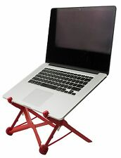 NOMAS Red Foldable Laptop Stand built with Nylon Fiberglass for Travel | Dura...
