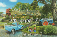 1000 Pieces Jigsaw Puzzle Cows In The Countryside - Brand New