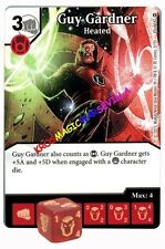 045 GUY GARDNER Heated - Common - WAR OF LIGHT - DC Dice Masters