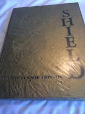 "1966 FOOTHILL HIGH SCHOOL YEARBOOK ""THE SHIELD"" TUSTIN  CALIFORNIA."