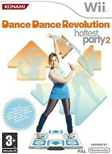 DANCE REVOLUTION HOTTEST PARTY 2 Nintendo WII Videogioco Versione UK