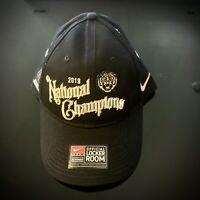 Nike 2019 Football National Champions LSU Tigers Locker Room Hat Cap New Sports