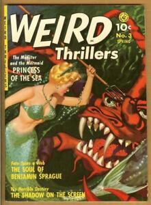 Weird Thrillers #3 Restored Ziff-Davis Pre-Code Horror Painted Cover