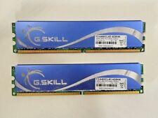 G.Skill 4GB (2x2GB) DDR2 800MHz PC2-6400 F2-6400CL4D-4GBHK Memory RAM (GSkill)