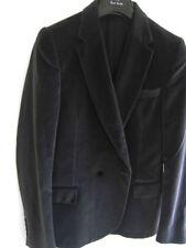 Completi e abiti sartoriali da uomo grigie in cotone