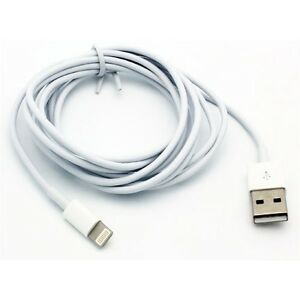 iPhone 11 12 13 Pro Max XR XS 7 8 SE - 6FT LONG USB CABLE FAST CHARGE POWER CORD
