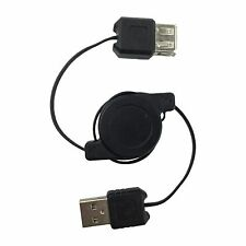Retractable USB 2.0 Male to Female Extension Cable Type A Computer Cord