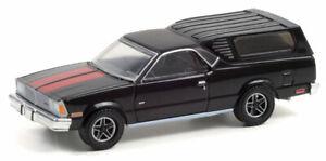 GREENLIGHT #30310 - BLACK 1981 CHEVROLET EL CAMINO WITH CAMPER SHELL [PREORDER]