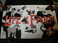 2005 LIFE ON THE FARM BOARD GAME~WE R FUN, INC~BUY COWS~BE THE FIRST TO RETIRE!