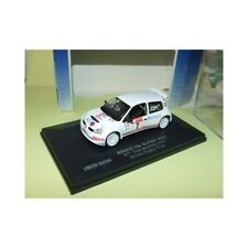 Universal Hobbies 1/43 RENAULT CLIO S1600 Hughes-pugh TRACKROD Rally 2002