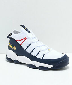 FILA Spaghetti White, Navy & Red Knit Shoes