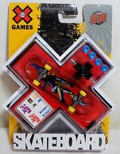MATTEL 2008 X GAMES FINGER BOARD FINGERBOARD SKATEBOARD EUROPEAN NEW SEALED C