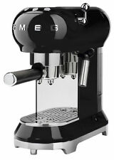 Smeg ECF01BLUK Espresso Coffee Machine - Black