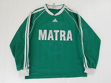 MATRA ADIDAS N°5 FRANCE MAILLOT FOOTBALL PORTE WORN SHIRT VINTAGE MAGLIA TRIKOT