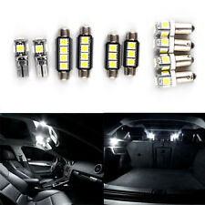 10x for Audi A3 8P Hatchback Canbus Error Free Interior Lights LED Bulbs White