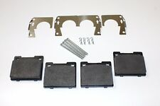 SET OF FRONT BRAKE PADS,PINS,CLIPS & SHIMS TRIUMPH HERALD 13/60