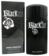 Black XS by Paco Rabanne 3.4 oz./100 ml. After Shave Lotion Splash for Men. NEW.
