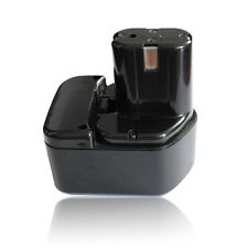 Battery 12V 2000mAh Ni-cd for Hitachi EB1212S Cordless Drill Power Tool Black