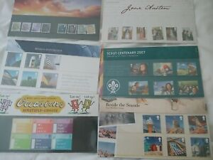 UK Presentation Packs 1967 - 2013 Free UK P&P