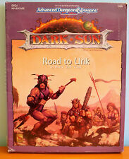 NEW AD&D Dark Sun Road to Urik Box Set - sealed