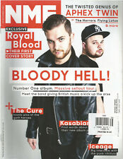 NME MAGAZINE SEPTEMBER 2014 ROYAL BLOOD THEIR FIST COVER STORY  BLOODY HELL!