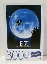 E.T. The Extra-Terrestrial Movie Poster 300 Piece Puzzle. New & Sealed