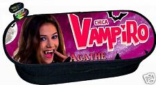 trousse à crayons REF 206  chica vampiro  personnalisée avec prénom