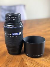 Olympus zuiko 70-300mm f/4.0-5.6 ED lens for four thirds + M4/3 Adapter READ