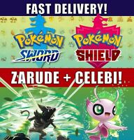 Zarude and Celebi 2-Pack | Pokemon Movie Coco | Pokemon Sword Shield | LEGIT!