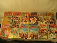 """VINTAGE ARCHIE COMIC BOOKS LOT OF 12 1960'S, 70'S & 80'S """"LOOK"""""""