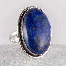 Wunderschöner, Silber Ring, 925, Lapis Lazuli, Lapislazuli, Blau, Größe: 60