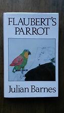 Julian Barnes – Flaubert's Parrot (1st UK 1984 hb with dw) Booker David Bowie
