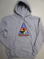 STAR WARS CONVENTION GREY MENS HOODY S NEW Sweater/Top/Jumper/Sweatshirt SMALL