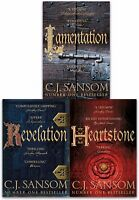 The Shardlake Series Collection C. J. Sansom 3 Books Set Revelation, Heartstone