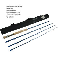 Aventik Tip Fast Action IM10 9FT 9WT Saltwater Fly Rods with Extra Tip Section
